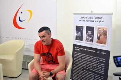 Der Enkel von El Chato in einem Dokumentarfilm über die spanische Zeitung in Tanger