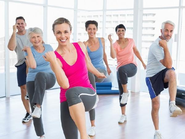 Aerobic und Step für Ihren Körper